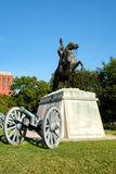 The Andrew Jackson statue at Lafayette Park in Washington D.C. Royalty Free Stock Images