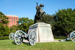 The Andrew Jackson statue at Lafayette Park in Washington D.C. Royalty Free Stock Photography