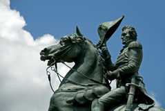 Andrew Jackson staty Royaltyfria Bilder