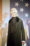 Andrew Jackson Wax Figure Lizenzfreies Stockfoto
