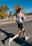 Andrew Jahn - 2010 Twin Cities Marathon Stock Photos