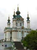andrew Kiev jest kościół św. fotografia stock