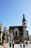 andrew kyrklig krakow s st Royaltyfria Bilder