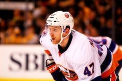 Andrew MacDonald New York Islanders. New York Islanders defenseman Andrew MacDoanld #47 stock photography