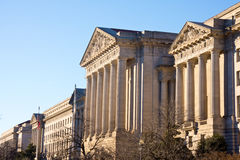 Andrew Mellon Auditorium in DC. Stock Image