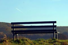 Andrew Phillips` Bench Series 3A royalty free stock images