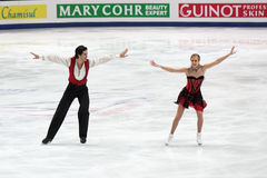 Andrew Poje and Kaitlyn Weaver Stock Photos