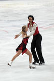 Andrew Poje and Kaitlyn Weaver Royalty Free Stock Photography