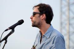 Andrew Ptasi muzyk, kompozytor i instrumentalista, wykonujemy przy Vida festiwalem obraz royalty free