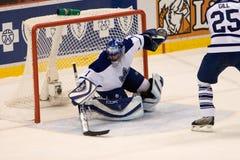 Andrew Raycroft de los Toronto Maple Leafs Fotos de archivo