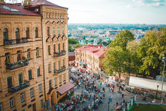 Andrew's Descent, Kiev Royalty Free Stock Images