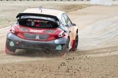 Andrew scott Κόσμος Rallycross FIA της Βαρκελώνης στοκ εικόνες