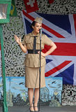 Andrew sisters 1940 tribute singer Stock Images