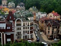 Andrew spadku St w Kijów Ukraina zdjęcie royalty free