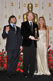 Andrew Stanton, Jack Black, Jennifer Aniston Stock Images