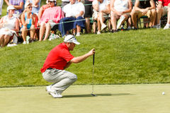 Andrew Svoboda at the Memorial Tournament Stock Image