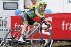 Andrew Talansky  Tour de France 2015 Stock Image