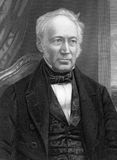 Andrew Ure. (1778-1857) on engraving from 1800s. Scottish doctor, scholar and chemist. Engraved by C.Cook after a picture by W.H.Diamond and published by W Royalty Free Stock Photography