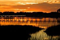 andrews Florida podpalany st Fotografia Royalty Free