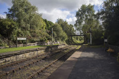 Andrews house station. The lovely rowley railway one of the old railways royalty free stock photography
