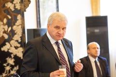 Andrey Denisov, Ambassador Rosja Chiny obraz stock
