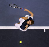 Andrey Golubev. Serve during ATP Malaysian Open Royalty Free Stock Photos