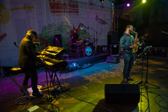 Andrey Kondakov group performs at Usadba Jazz Festival Stock Photos