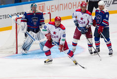 Andrey Kovalenko (40) in action Stock Photography
