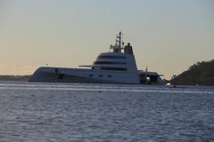 Andrey Melnichenkos Yacht  Royalty Free Stock Image