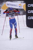 Andrey Parfenov - cross country skier Stock Photos