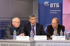 Andrey Petrov, Mikhail Moskalev και Αλέξανδρος Poli Στοκ Εικόνα
