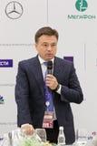 Andrey Vorobyov. SAINT-PETERSBURG, RUSSIA - JUN 17, 2016: St. Petersburg International Economic Forum SPIEF-2016. Andrey Vorobyov - Governor of Moscow Oblast Stock Photography