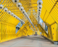 Andreyevsky zwyczajny most w Moskwa Obraz Stock