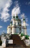 andreyivskaya kościół Obrazy Stock