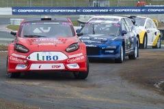Andri Oun 巴塞罗那FIA世界Rallycross 免版税图库摄影