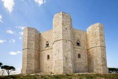 ANDRIA- Castel del Monte, Puglia, Italia sudorientale fotografie stock libere da diritti