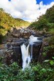 Andriamamovoka waterfall Stock Photo