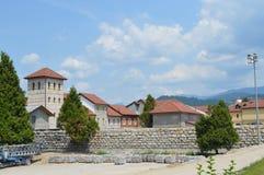 Andric town of Visegrad, Bosnia and Herzegovina Stock Photo
