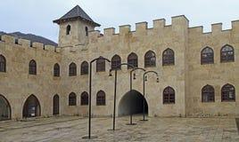 Andricgrad Городок предназначен к югославскому романисту Ивану Andric стоковое изображение