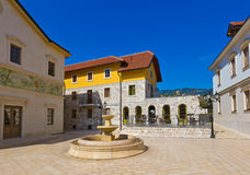 Andricgrad or Kamengrad in Visegrad - Bosnia and Herzegovina Stock Photography