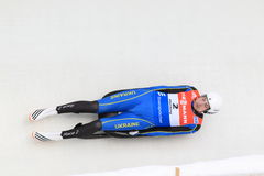 Andriy Mandziy - luge Royalty Free Stock Images