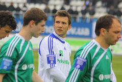 Andriy Shevchenko of Dynamo Kyiv Stock Photo