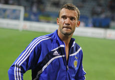 Andriy Shevchenko of Dynamo Kyiv Royalty Free Stock Photos