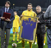 Andriy Shevchenko of Ukraine Royalty Free Stock Image