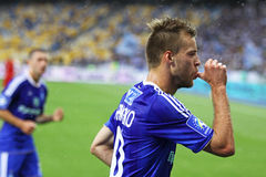 Andriy Yarmolenko des Dynamos Kyiv Stockbild