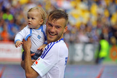Andriy Yarmolenko of Dynamo Kyiv Stock Photo