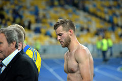 Andriy Yarmolenko after the game Royalty Free Stock Photos