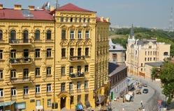 Andriyivskyy uzviz Royalty Free Stock Image