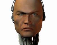 Androïde, cybernetische intelligentie Royalty-vrije Stock Foto's