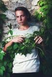 Androgyne chłopiec zdjęcia stock